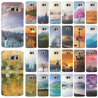 For Samsung Galaxy Note4 S4 S5 S6 Edge TPU Case Cover Soft Silica Gel Print Skin