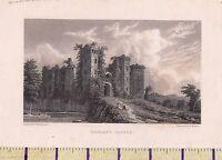 C1815 Antiguo Pequeño Georgiano Estampado ~ Ragland Castillo ~