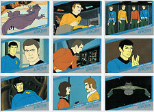 THE QUOTABLE STAR TREK SET OF 18 ANIMATED CARDS Q1-Q18