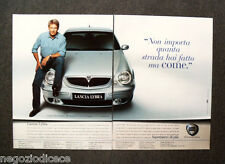 N718 - Advertising Pubblicità - 1999 - LANCIA LYBRA, TEST. HARRISON FORD