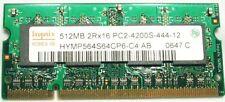 Hynix 512MB DDR2 PC2-4200 Sodimm Laptop Memory 533
