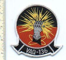 Military Aviation Patch USN EA-6B VAQ-136 Squadron