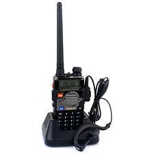 HOT Walkie Talkie RETEVIS RT-5RV 5W 128CH UHF/VHF Dual Band FM Two Way FM Radio