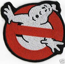 ex large 5 inch GHOSTBUSTERS IRON ON  PATCH BUY 2 GET 1 FREE