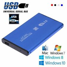 HDD Enclosure Hard Disk Drive External Case SSD Cover Box For PC Laptop