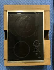 """WOLF 15"""" ELECTRIC(glass/stnls)COOKTOP #CT15E/S FOR HOME/WORK, see pics & desc."""