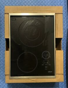 "WOLF 15"" ELECTRIC(glass/stnls)COOKTOP #CT15E/S FOR HOME/WORK, see pics & desc."