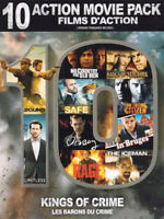Kings of Crime (10 Action Movie Pack) (Boxset) New DVD