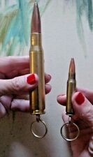 50 Caliber Keyring 50 CAL BMG Key Chain + FREE 308 Winchester Key Ring