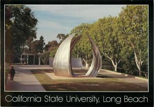 California State University Long Beach Postcard Piotr Kowalski Art Statue Now