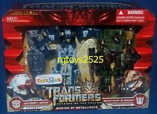 Transformers Revenge of the Fallen Whirl and Bludgeon New Masters of Matellikato