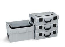 Bosch Sortimo Werkzeugkoffer Set 3x L-Boxx 136 + LT-Boxx 272 | Leerkoffer | grau