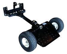 Two Wheel Sulky Lift Latch Mowers Pneumatic Wheels Anti-slip Platform Tread