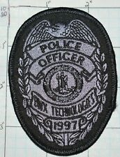 """VIRGINIA, BWX TECHNOLOGIES NUCLEAR POWER GENERATION POLICE OFFICER 3.75"""" PATCH"""
