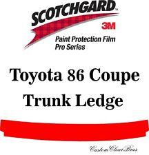 3M Scotchgard Paint Protection Film Pro Series 2017 2018 2019 Toyota 86 Coupe