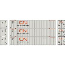 NEW ATHEARN HO CN CANADIAN NATIONAL 53' STOUGHTON CONTAINER 3-PACK #2