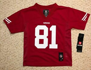 Anquan Boldin #81 49ers NFL Red Jersey for Kids (Age 4)