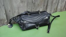 HAYDEN HARNETT Black Leather Handbag Cross Body Shoulder Designer Bag Purse