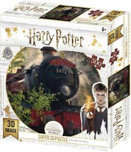 Harry Potter Super 3D Lenticular Puzzle 300 Piece - Hogwarts Express