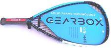 """GEARBOX M40 Racquetball Racquet - 170T Tear Drop Form 3 5/8""""  -  NEW!"""