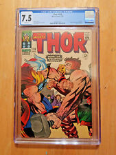 THOR #126 ~1ST ISSUE OF THOR ON-GOING SERIES **CGC 7.5 WHITE PAGES**