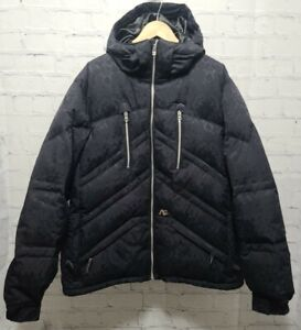 ANALOG CIR CLASS 1 Full Zip Jacket Printed Women's Black Down X-Large Geiger A75