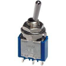 APEM 5547 A Interruttore DPDT ON-OFF-ON 250 V 3 A