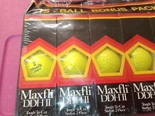Dunlop Maxfli Ddh Ii Yellow 15 Golf Ball Bonus Pack