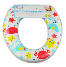 Padded toilet seat Children Kids Infants Toddler Soft Trainer 2 years +