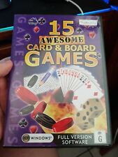 15 Awesome Card & Board Games -  PC GAME - FREE POST