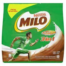 Nestle MILO 3in1 Activ-Go Original Chocolate Malt Drink (18 Sticks x 33g)