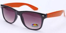 Gafas de sol de hombre de espejo naranja