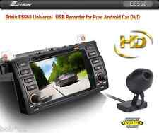 HD USB 2.0 Front DVR Camera GPS Dash Cam Driving Recorder Car Radio DVD Colo CCD
