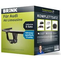 Anhängerkupplung BRINK starr für AUDI A6 Limousine +E-Satz ABE