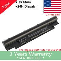 Laptop Battery for Dell Inspiron 13Z N311z 14Z N411z 268X5 Vostro V131 N2DN FS