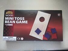 WOOD MINI TOSS BEAN GAME BY REAL WOOD GAMES NEW