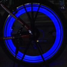 Night Ride Blue Lights Bicycle Bike Cycling Wheel Tire Spoke LED Light Lamp GUC