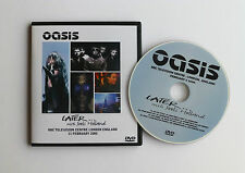 OASIS   LATER...WITH JOOLS HOLLAND    11th FEBRUARY 2000  LIVE DVD
