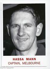 2007 - 1966 Scanlens Archives Captain (C1) Hassa MANN Melbourne ****