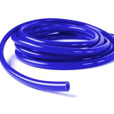 5M SILICONE HOSE  FOR HIGH TEMP VACUUM ENGINE TUBE INTERCOOLER COUPLER Blue 4mm