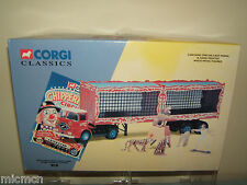 CORGI CLASSIC'S MODEL No11201 ERF ARTIC,CAGES,LIONS,TIGERS & TRAINER   MIB