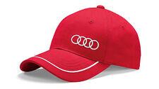 Audi - Casquette de Baseball Anneaux Unisexe Rouge 3131701010