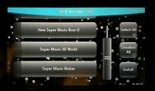 Wii U 1TB New HDD Package USB HDD A++ USA Games Ready to Install, Not Loadline