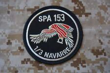 Z246 écusson insigne patch militaire armée Escadrille de Chasse SPA 153 Navarre
