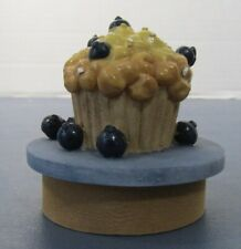 Candle jar topper small jar blueberry muffin with candle