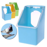 1pc Plastic Pigeons Water Feeder Hanging Drinking Pot Bird Cage Water Dispensers