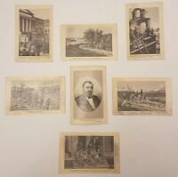 1885 Ulysses S Grant Souvenir Illustrated Cards Adolph Wittemann Inauguration