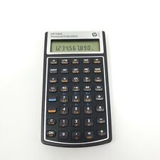 HP 10BII Financial Calculator Tested Works Great New Batteries Hewlett Packard