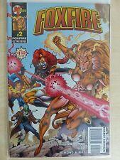 """Foxfire Ultraverse Issue 2 """"First Print"""" - 1996 Malibu Comics"""