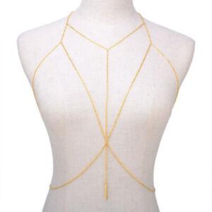 2021 Latest Fashion Body Chain Women Summer Beach Sexy Bikini Chest Body Jewelry